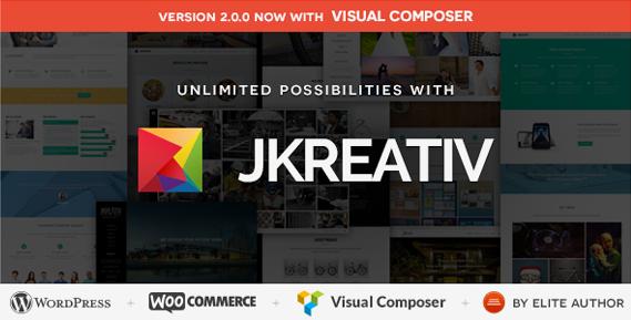 JKreativ WordPress Theme