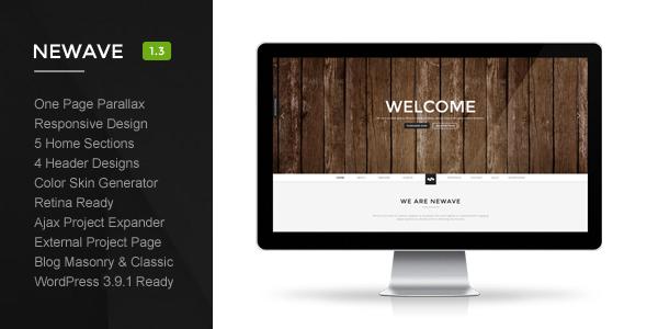 Newave WordPress Theme