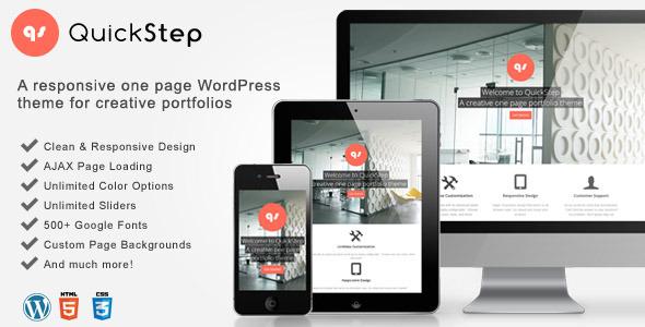 QuickStep WordPress theme